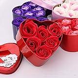 YXLY Kawaii Felpa Lilo Stitch Juguetes De Peluche con Ramos Stich Rosa Jabón Ramo De Flores San Valentín Regalo De Cumpleaños-J