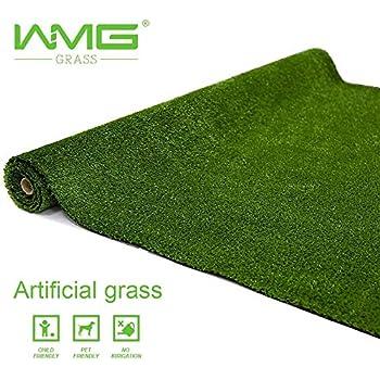 Amazon Com Wmg Artificial Grass Lawn2 X2 Customize Synthetic Turf Grass Rug Grass Height 0 4 Green Fake Grass For Home Backyard Patio Balcony Indoor Outdoor Decor Garden Outdoor