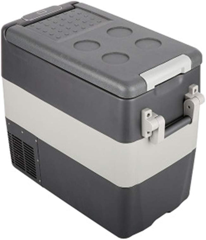 SryWj Auto Kühlschrank 50 Liter Mini Auto Kompressor Kühlschrank Auto Startseite Dual-use Kühlschrank Kühlung Kühlschrank
