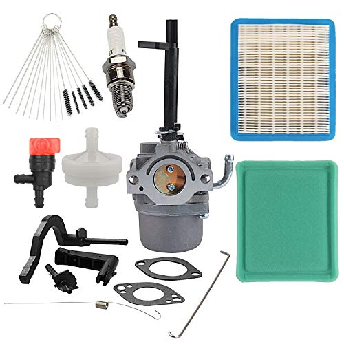 Wellsking 591378 Carburetor with 491588S Air Filter Tune-Up Kit for Briggs Stratton Generator 697978 796321 696132 696133 796322 697351 699958 699966 698455 695918 694952 695919 695920 695328