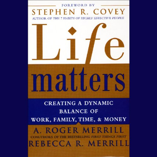 Life Matters audiobook cover art