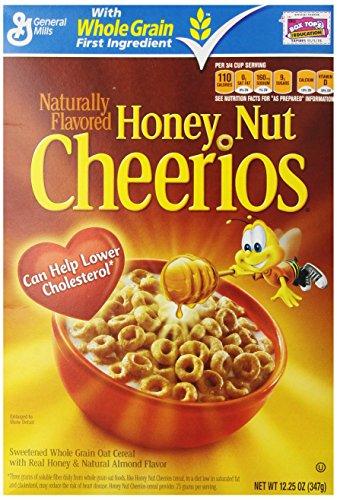 General Mills, Honey Nut Cheerios, 12.25 oz (347 g)