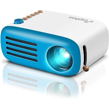 DBPOWER Mini proyector, 2200 Lumen Proyector LED de Video HD 1080P ...