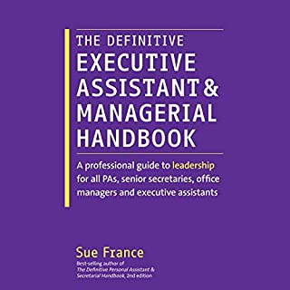 The Definitive Executive Assistant and Managerial Handbook audiobook cover art