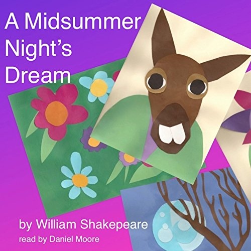 William Shakespeare's A Midsummer Night's Dream audiobook cover art