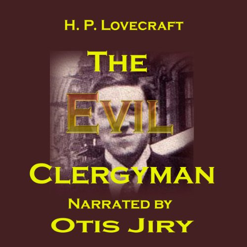 The Evil Clergyman audiobook cover art