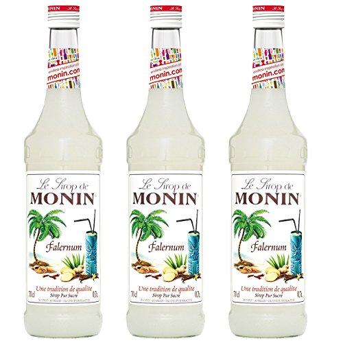 Monin Sirup Falernum, 0,7L 3er Pack