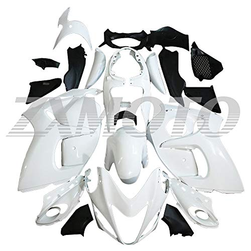 ZXMOTO Unpainted Motorcycle Fairing Kit for 2008 2009 2010 2011 2012 2013 2014 2015 2016 2017 2018 2019 Suzuki Hayabusa GSXR 1300 Fairings Set