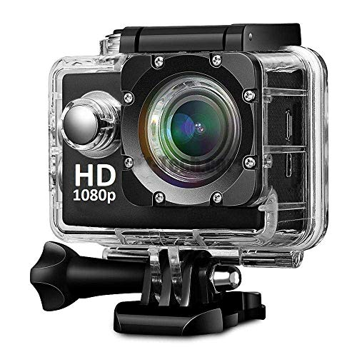1080p WiFi Sports Action Camera Ultra HD Camcorder 16MP 170 Degree Wide Angle