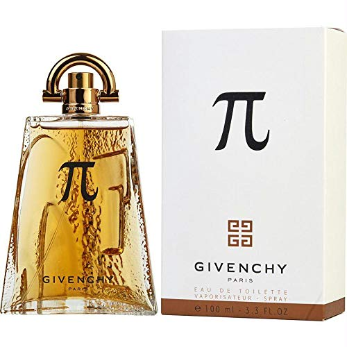 Givenchy Pi Cologne Eau de Toilette Spray for Men, 3.3 Fluid Ounce