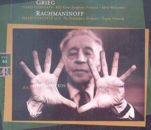 Grieg: Piano Concerto / Rachmaninoff: Piano Concerto No. 2