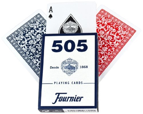 FOURNIER No. 505 Standard Index (Red/Blue) by Fournier