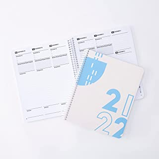 """Class Tracker Academic Planner for Students 2021-2022 High School Edition (7"""" x 8."""