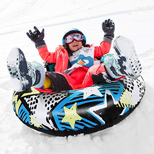 Brace Master Snow Tube - 47 Inch Inflatable Snow...