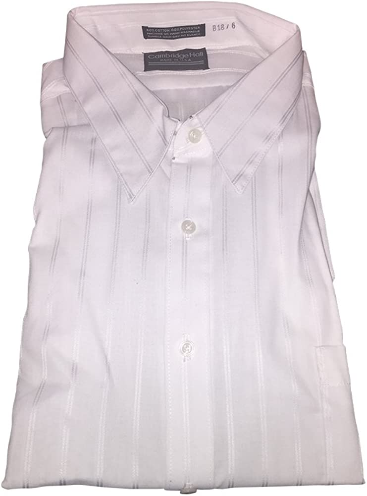 Cambridge Hall Tonal Stripe USA Made Dress Shirts