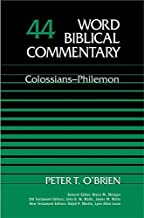 word biblical commentary colossians