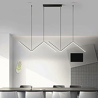 LED 26W Suspension Moderne Plafonnier Éclairage Intérieur Lampe Design Table À Manger Lustre En Métal et Acrylique Luminai...
