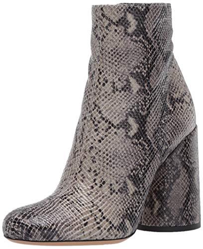 Emporio Armani Women's Snake Printed Ankle Boot, Sage, 39 Medium EU (9 US)