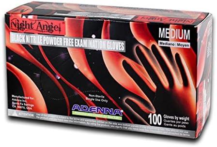 Adenna NGL225-10PK Night Angel Free Examination Japan's largest assortment Powder Nitrile Surprise price
