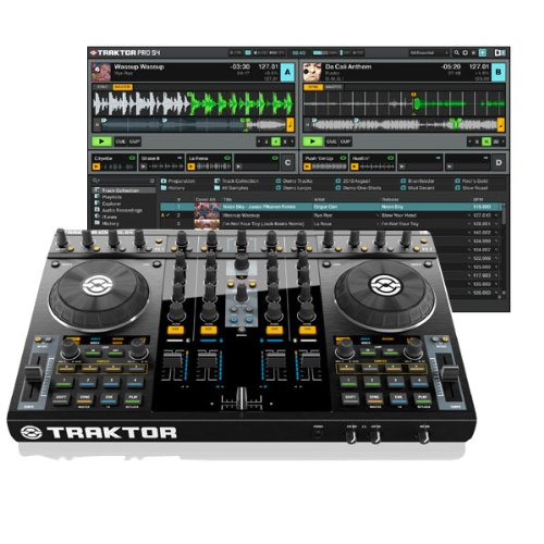 『NATIVE INSTRUMENTS TRAKTOR KONTROL S4』のトップ画像