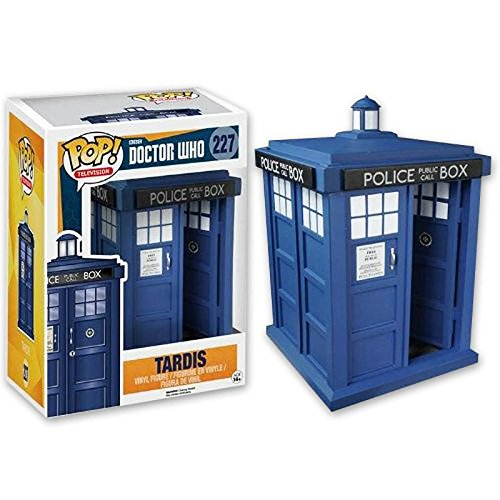 Doctor Who Pop! Vinyl Figur Tardis (ca. 15 cm)