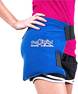 "Cool Relief Ice Wrap 11""x12"" Blue Cooling Hip Pack"