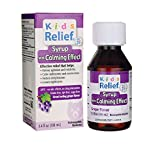 Homeolab USA Kids Relief Calm Syrup, With Calming Effect Grape Flavor- 3.4 oz (Pack of 5)