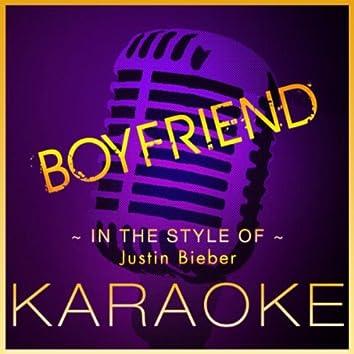Boyfriend (J.Bieber) - Karaoke Version