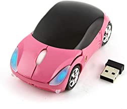 Cool 3D Sport Car Shape Mouse 2.4GHz Wireless Mouse Optical Ergonomic Gaming Mice Mini..