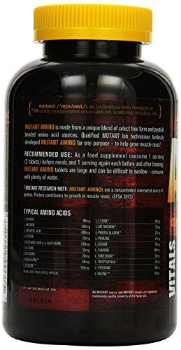 Mutant Amino – 300 Caplets, 1er Pack (1 x 390 g) - 3