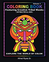 African Masked Theme Coloring Book