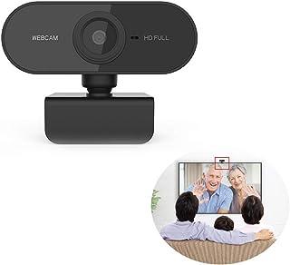 كاميرا ويب ويب للكمبيوتر ومكالمات فيديو عالية الدقة وتصبح بصري وميكروفون لتقليل الضوضاء