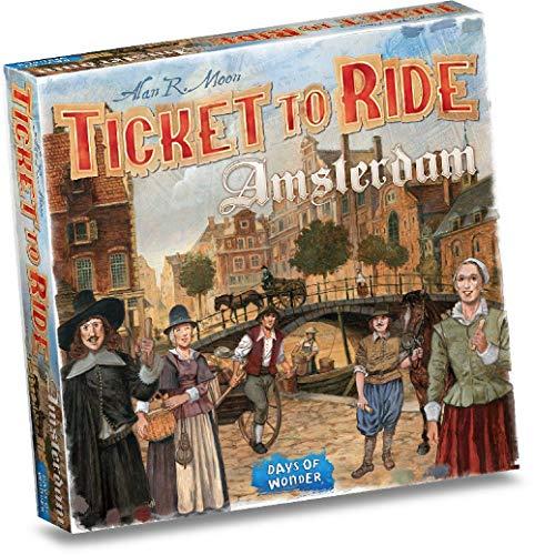 Asmodee Ticket to Ride: Amsterdam, Gioco Base, Gioco da Tavolo, Ed. Italiano 8517