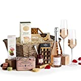 Couples Sharing Hamper - Prosecco Rosé Hampers - Luxury Gift Hamper and Food Gift Baskets For Two