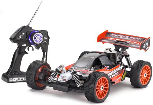Carson 204019 - Specter Two V25 RTR 1:8, ferngesteuertes Offroad Fahrzeug, 3-Kanal, 1:8; Verbrenner, 40 MHz, Fertigmodell