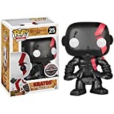 QToys Funko Pop! Games: God of War #25 Kratos Limited Edition(Black) Chibi...
