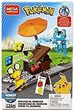 Mega Construx Pokemon, Combat Grenousse Contre dedenne, Jeu de Construction, 124 Pièces, pour Enfant Dès 6 Ans, Gfv78