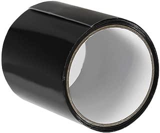 Patch & Shield Power Tape Black, Super Strong Fiber Waterproof Tape Stop Leaks Seal Repair Tape Performance Self Fix Tape Fiberfix Adhesive Tape 150x10cm (1-Pack)