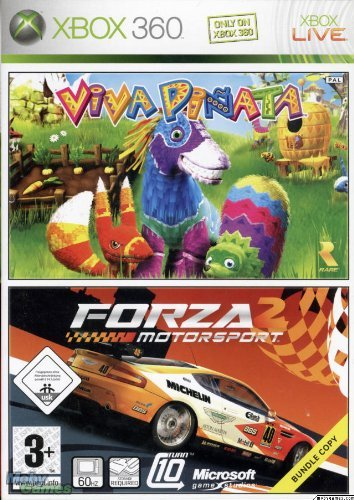 Viva Pinata & Forza Motorsport 2: 2 Game Bundle (Xbox 360) by Microsoft