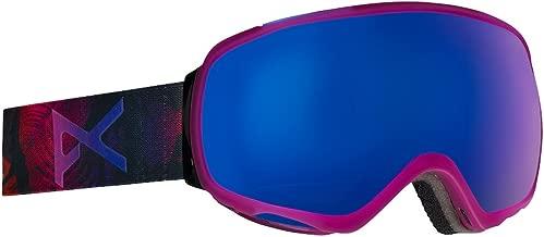 Anon Women's Tempest Snow Goggles Digi Tiki with Blue Cobalt Lens
