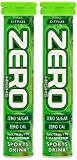 High 5 Zero Hydration Tablets 1 Tube x 20 Citrus (2 Tubes)