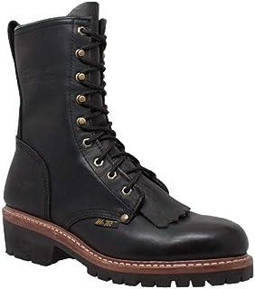 """حذاء عمل AdTec رجالي 1964 10"""" رجل إطفاء أسود"""