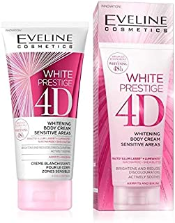 EVELINE WHITE PRESTIGE 4D WHITENING BODY CREAM SENSITIVE AREAS 100ML