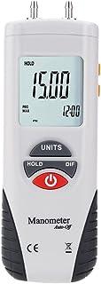 Mengshen Digital Manometer, Professional Digital Air Pressure Meter & Differential Pressure Gauge Kit - ±13.79kPa / ±2 ps...