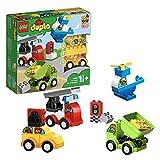 LEGO Duplo My First I Miei Primi Veicoli, Set di Mattoncini da Costruzione con 4 Veicoli, per Bambini di 1,5 Anni, 10886