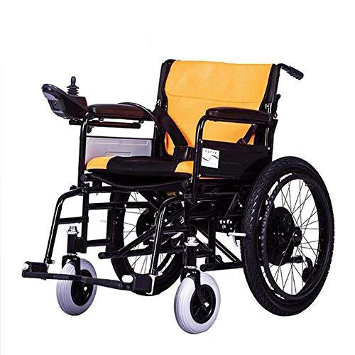 ZXMDP Elektrische rolstoel, licht en opvouwbaar, frame voor mobiele rolstoel, laptop, reis, chairfor, lithium-accu, 12 Ah