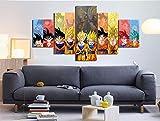 5 Stück Leinwand Gedruckt Wandbilder Wohnkultur Wohnzimmer