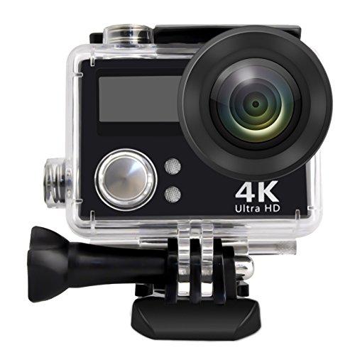 Action Camera, Greatic waterproof Action Camera pp-v3HD 4K WiFi impermeabile sport fotocamera con 5,1cm display schermo