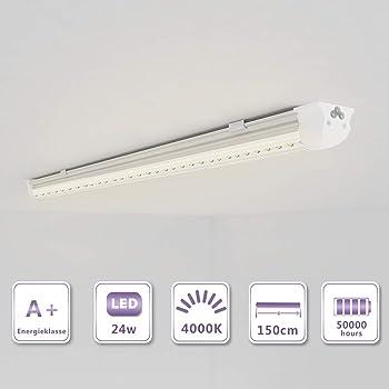 10 pack) 36W LED Leuchtstoffröhre komplett set 120cm (120W