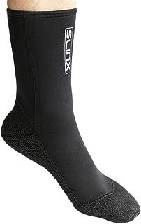 Niome 1 Pair 3mm Non-Slip Scuba Diving Snorkeling Boots Scuba Swimwear Wetsuit Surfing Cold-Proof Superelastic Swimming Socks